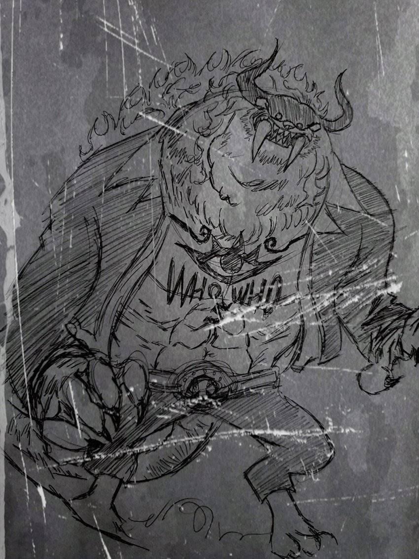 Рисунок с аниме ван пис глава 1017