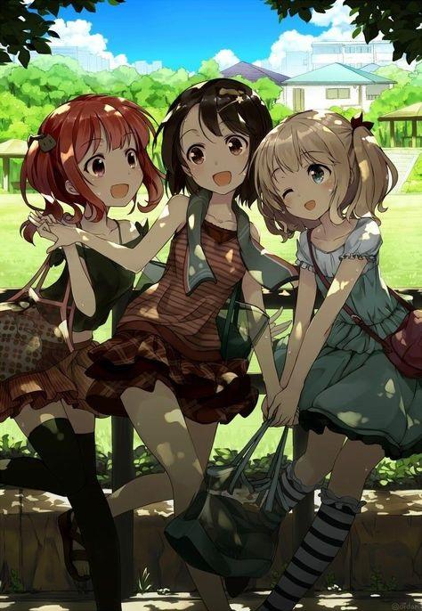 Топовые картинки из аниме лучшие подруги (12)