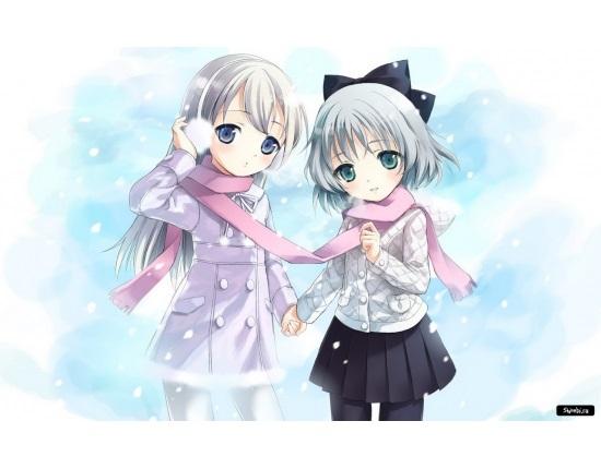 Топовые картинки из аниме лучшие подруги (2)