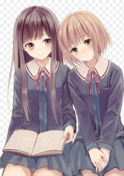 Топовые картинки из аниме лучшие подруги (24)