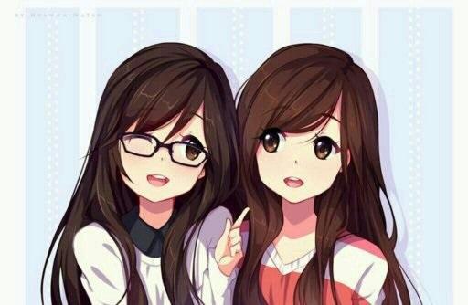 Топовые картинки из аниме лучшие подруги (4)