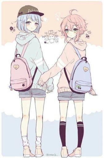 Топовые картинки из аниме лучшие подруги (5)