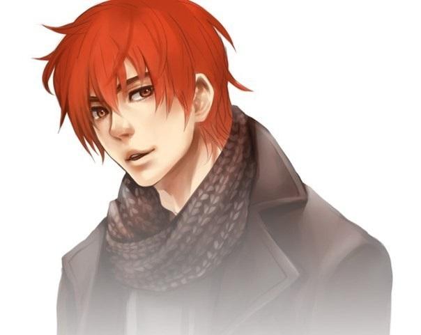 Аниме парни с рыжими волосами (24)