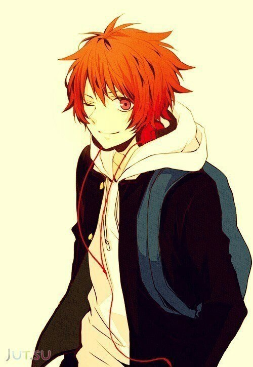 Аниме парни с рыжими волосами (9)
