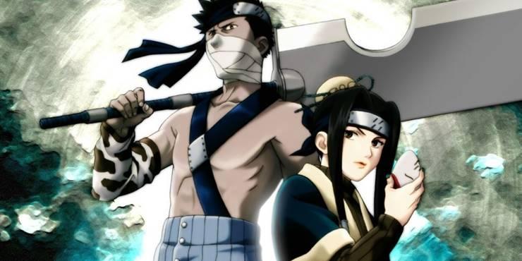 Дизайн персонажей Хаку и Забуза Момочи