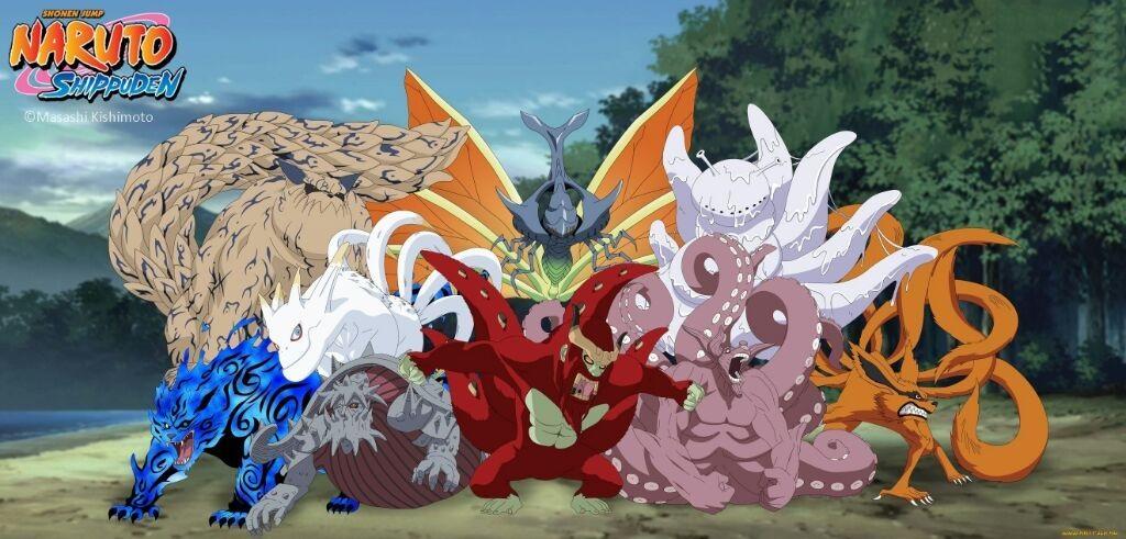 Фото Хвостатые звери из аниме Наруто (1)