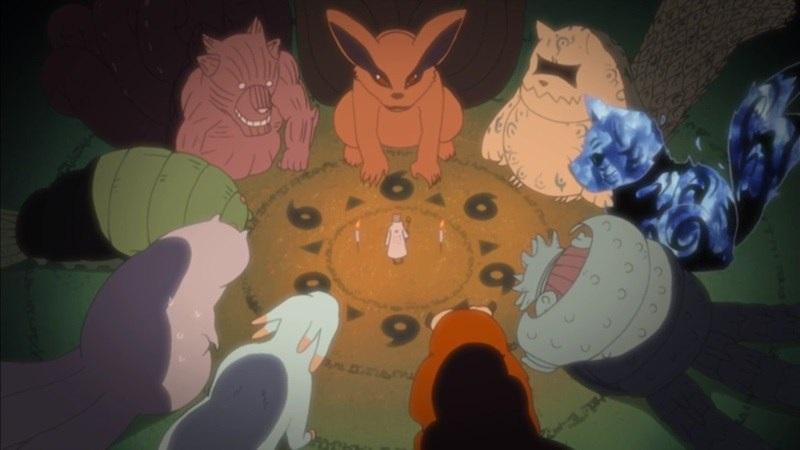 Фото Хвостатые звери из аниме Наруто (13)