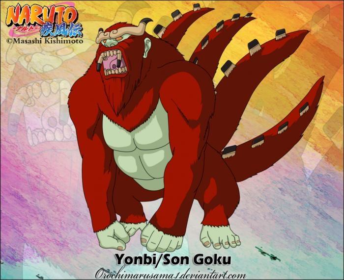 Фото Хвостатые звери из аниме Наруто (4)