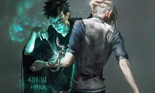 Гарри и Драко арты 2021 год (14)