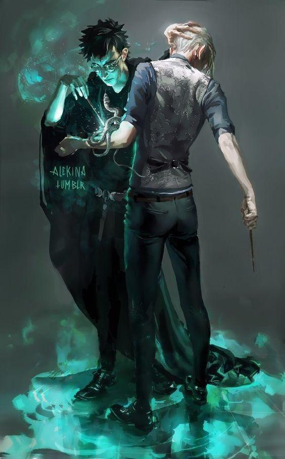 Гарри и Драко арты 2021 год (3)