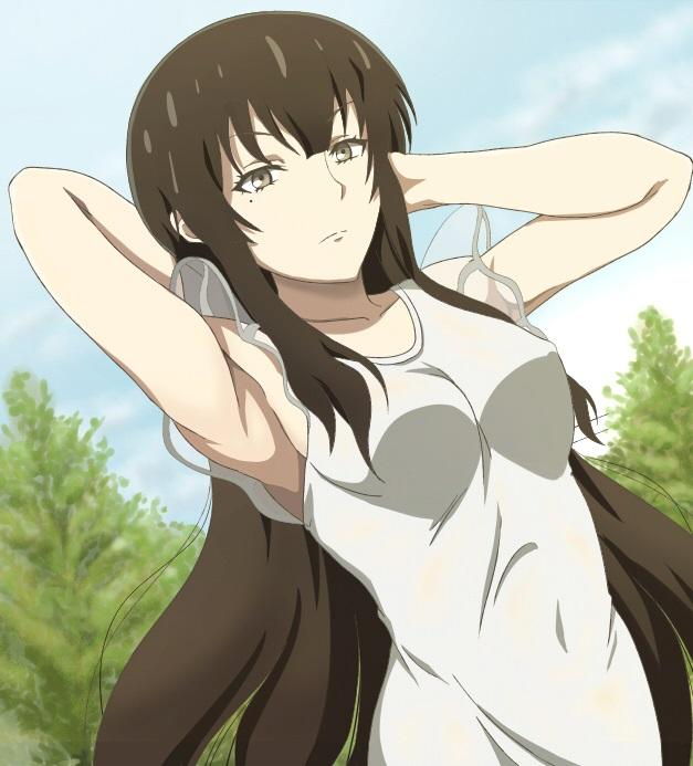 Kujou Sakurako красивые арты персонажа (13)