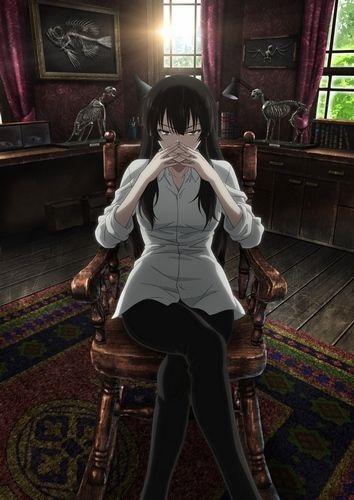 Kujou Sakurako красивые арты персонажа (16)