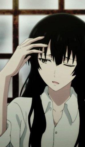 Kujou Sakurako красивые арты персонажа (4)