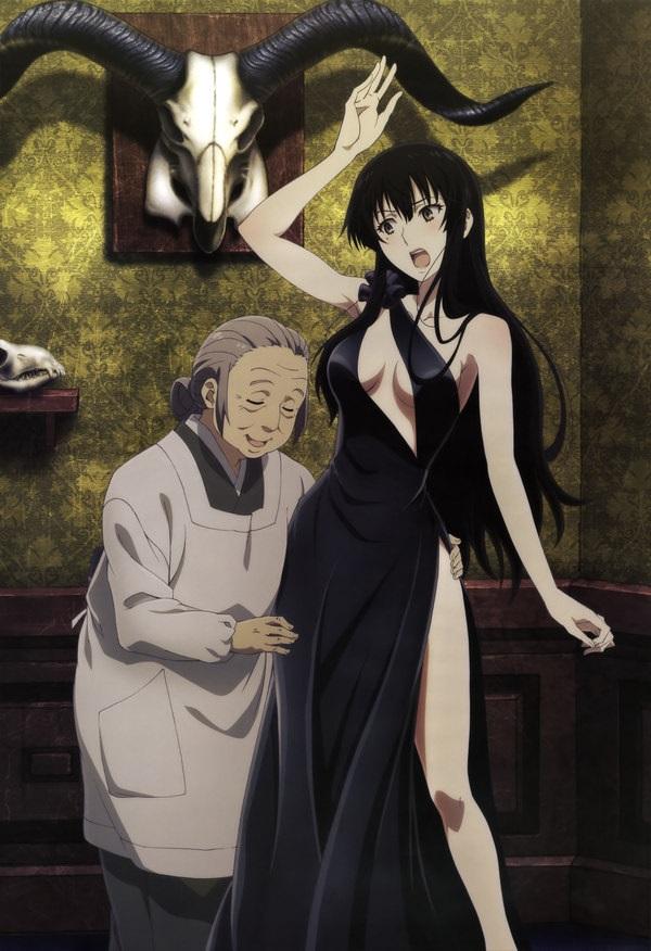 Kujou Sakurako красивые арты персонажа (9)
