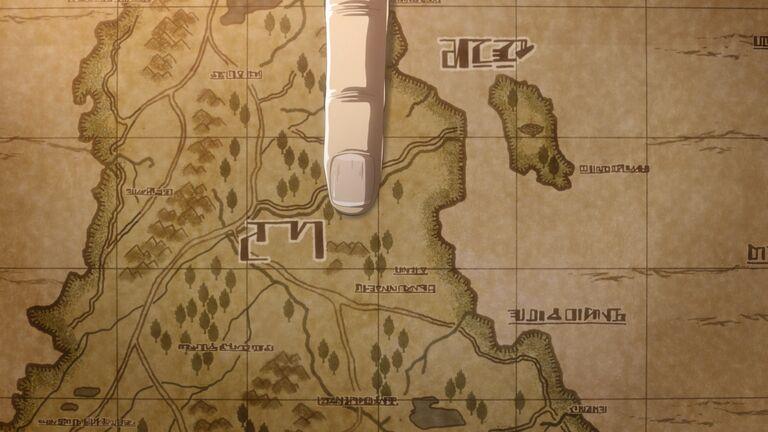 Место на карте Марли