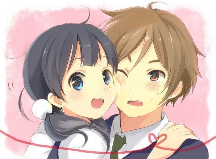 Мотидзо и Тамако   очень красивые картинки этой парочки (18)