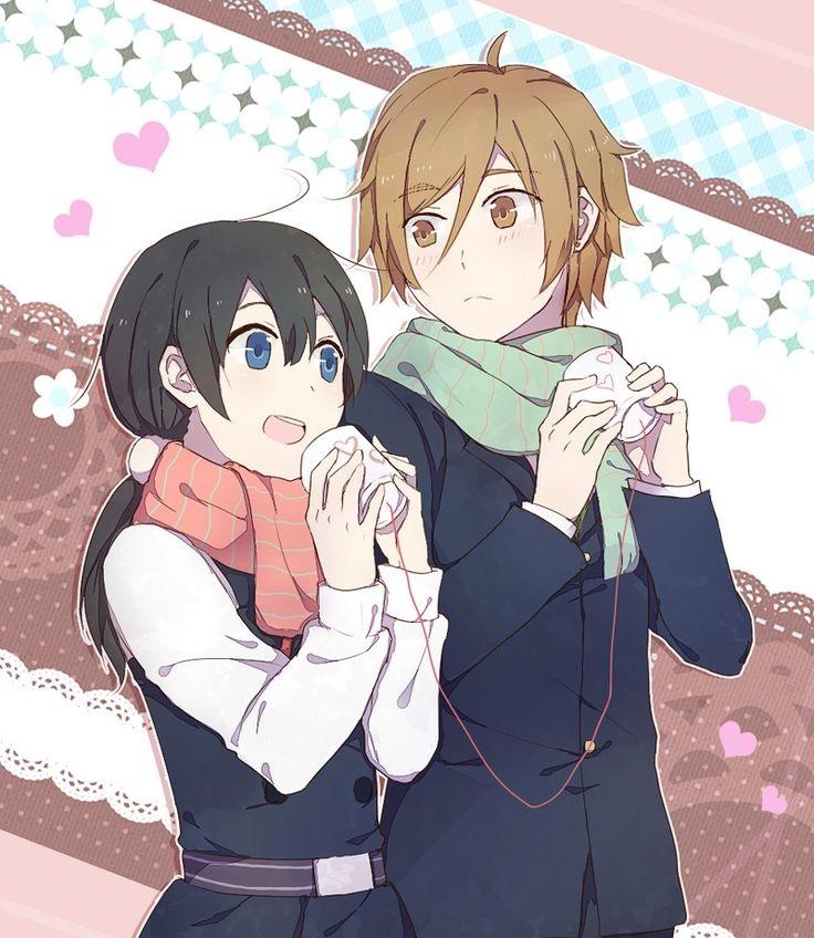 Мотидзо и Тамако   очень красивые картинки этой парочки (7)