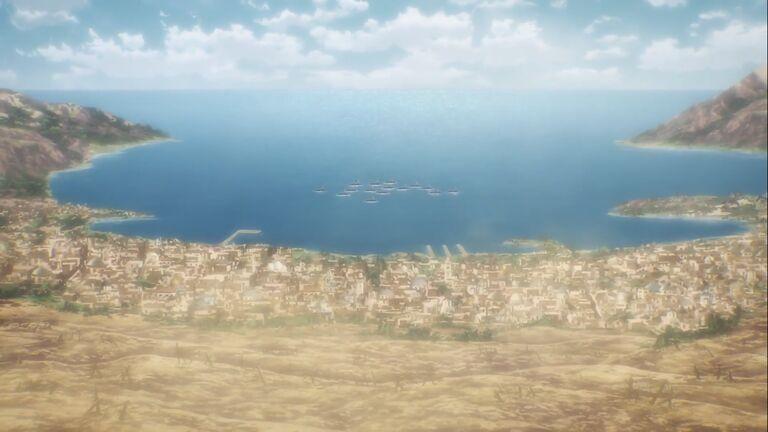 Остров Ближневосточные союзные силы