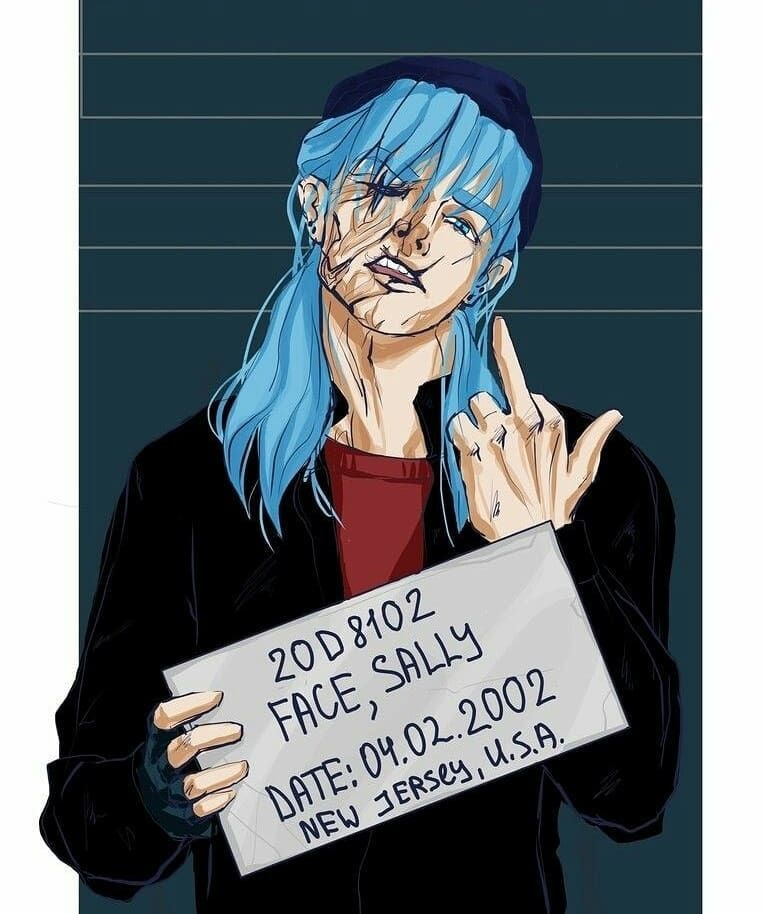 Салли Кромсали арт картинки в хорошем качестве (17)