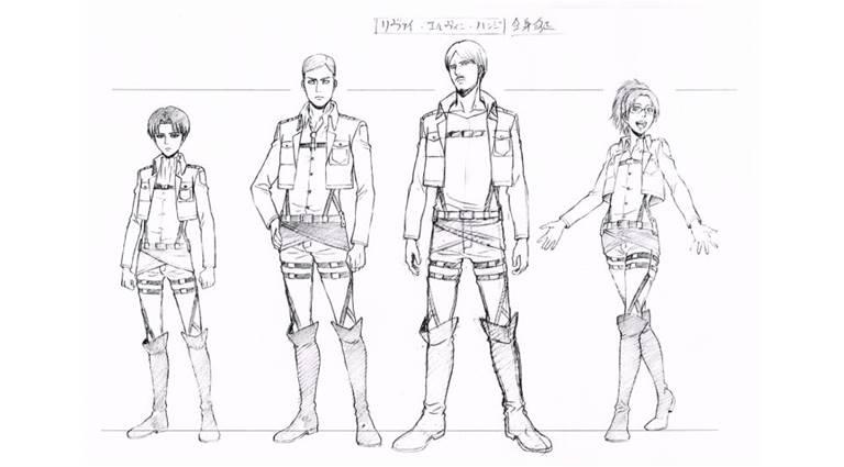 Сравнительный пример Роста Леви, посравнению с другими членами отряда
