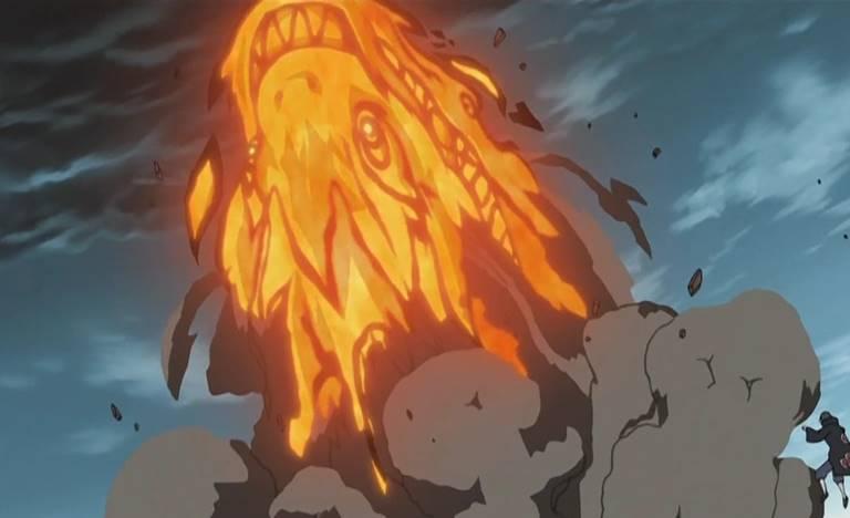 Техника Великого Огненного Дракона