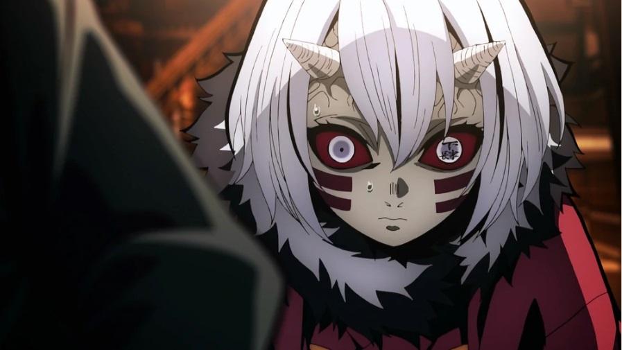 Топ арты аниме девушка демон с белыми волосами (21)