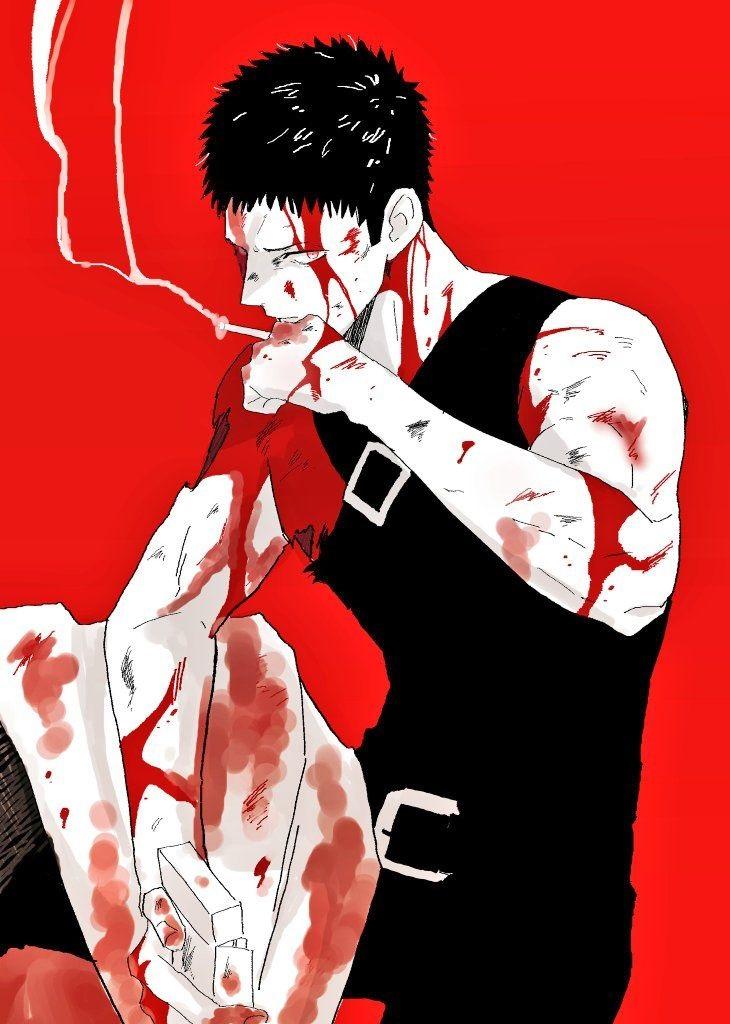 Зомбимен из аниме Ванпанчмен   крутые арты персонажа (10)