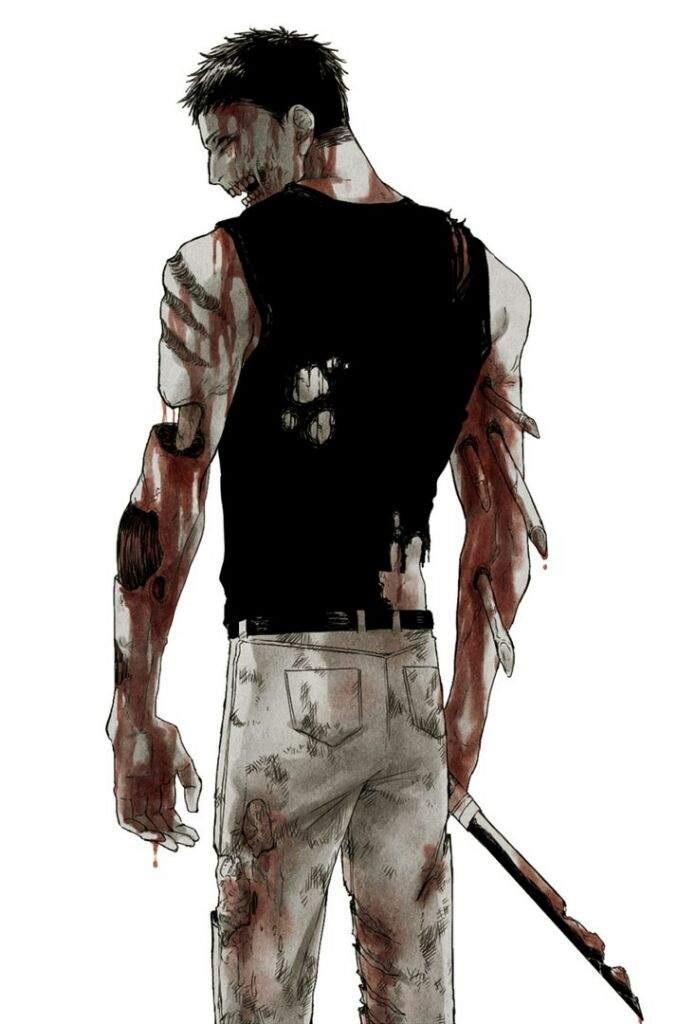 Зомбимен из аниме Ванпанчмен   крутые арты персонажа (14)