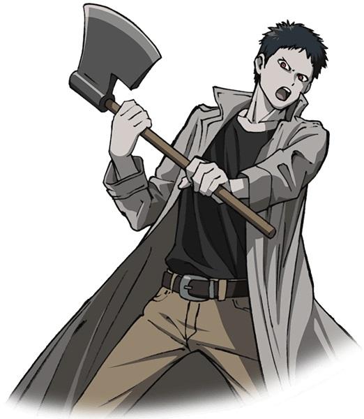 Зомбимен из аниме Ванпанчмен   крутые арты персонажа (2)
