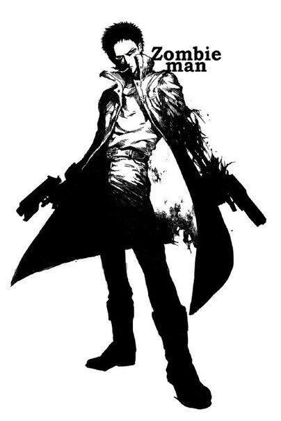 Зомбимен из аниме Ванпанчмен   крутые арты персонажа (5)