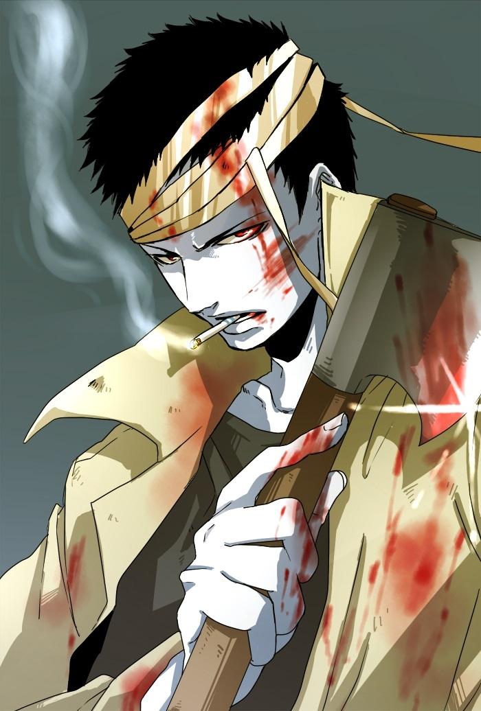 Зомбимен из аниме Ванпанчмен   крутые арты персонажа (6)