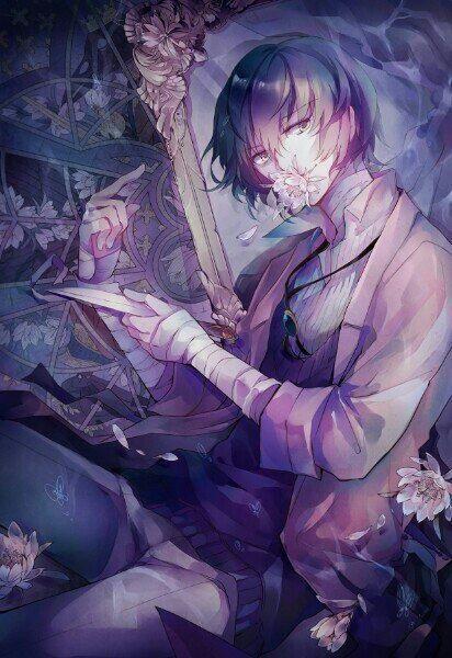 Арты персонажа Дадзай Осаму (18)