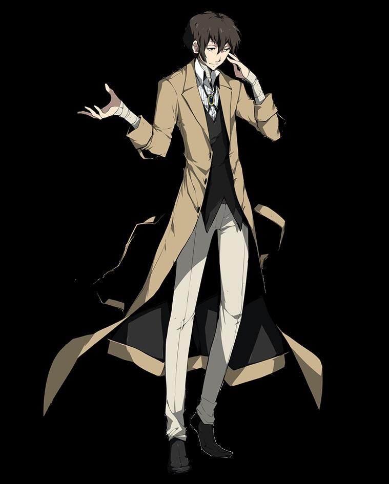 Арты персонажа Дадзай Осаму (19)