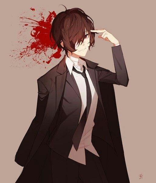 Арты персонажа Дадзай Осаму (5)