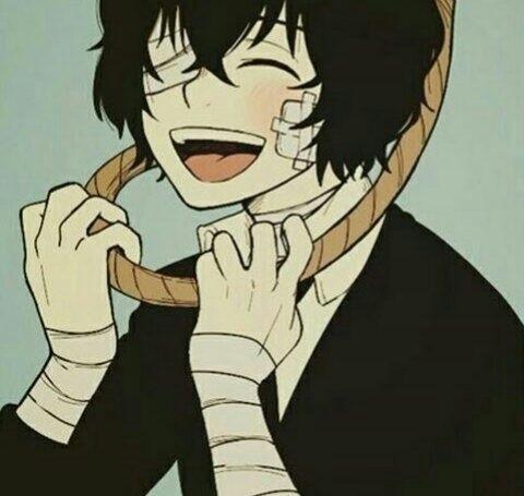 Арты персонажа Дадзай Осаму (6)