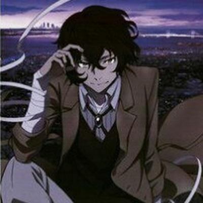 Арты персонажа Дадзай Осаму (8)