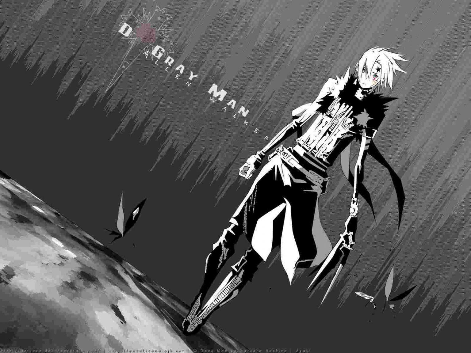 D. Gray Man Глава 241 Невинность атакует ману