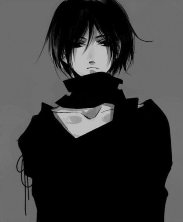 Темноволосый парень аниме картинки   сборка (17)