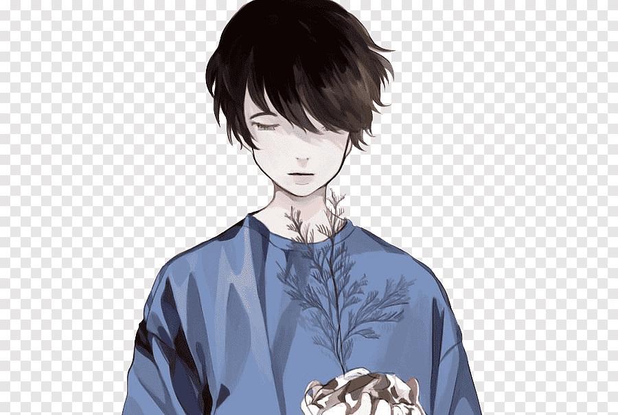 Темноволосый парень аниме картинки   сборка (25)