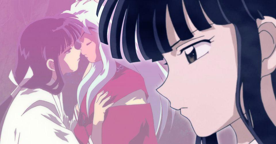 Инуяша  почему влюбленность привела к ослаблению сил Кикё