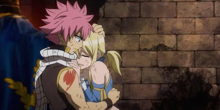 Нацу и его будущая девушка из аниме Хвост фей
