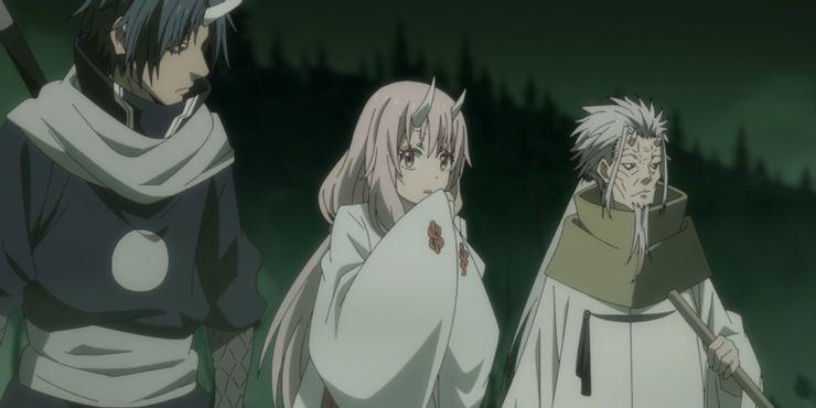 Shuna with allies