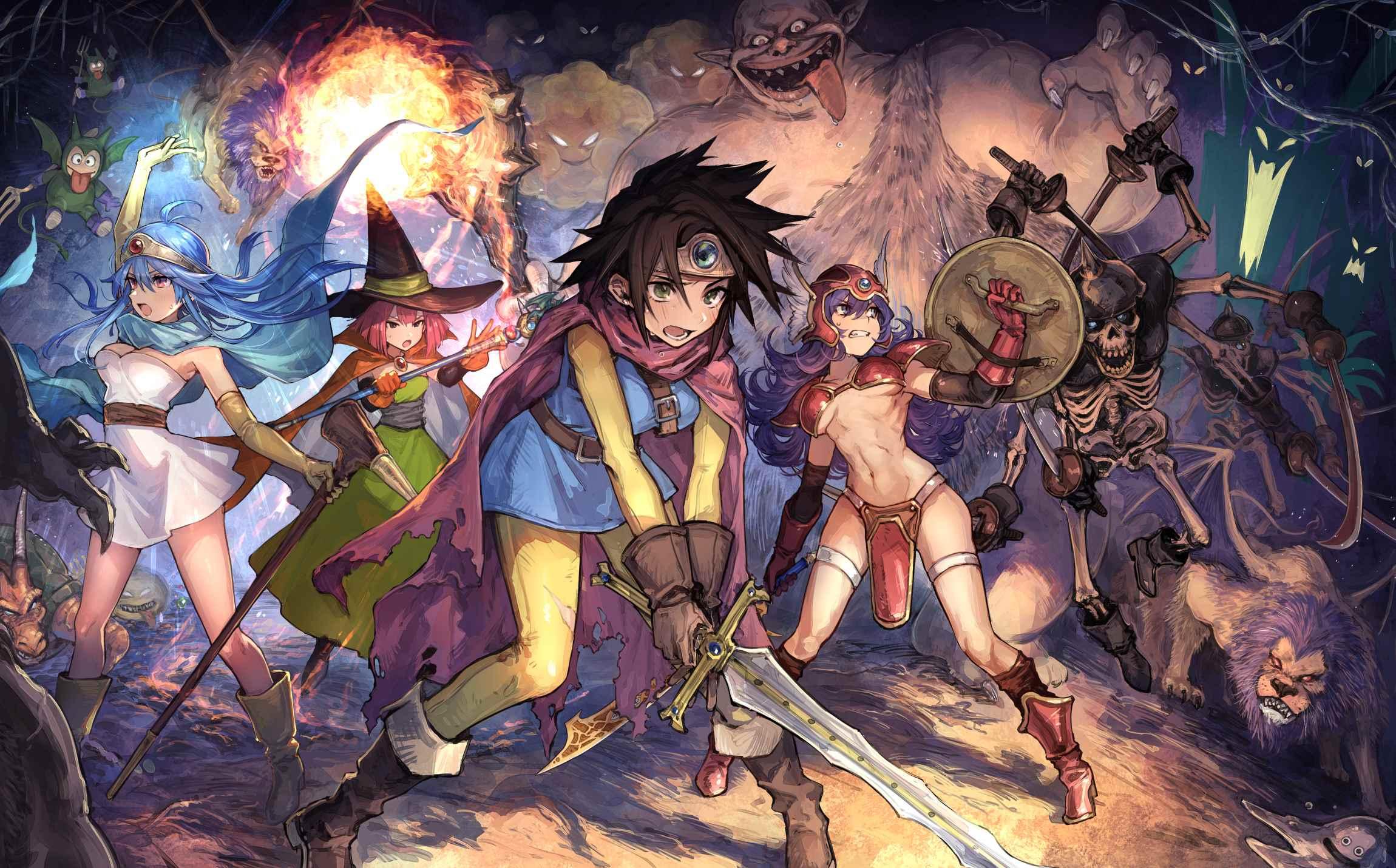 Картинка из аниме Квест дракона, Приключения Дая (1)