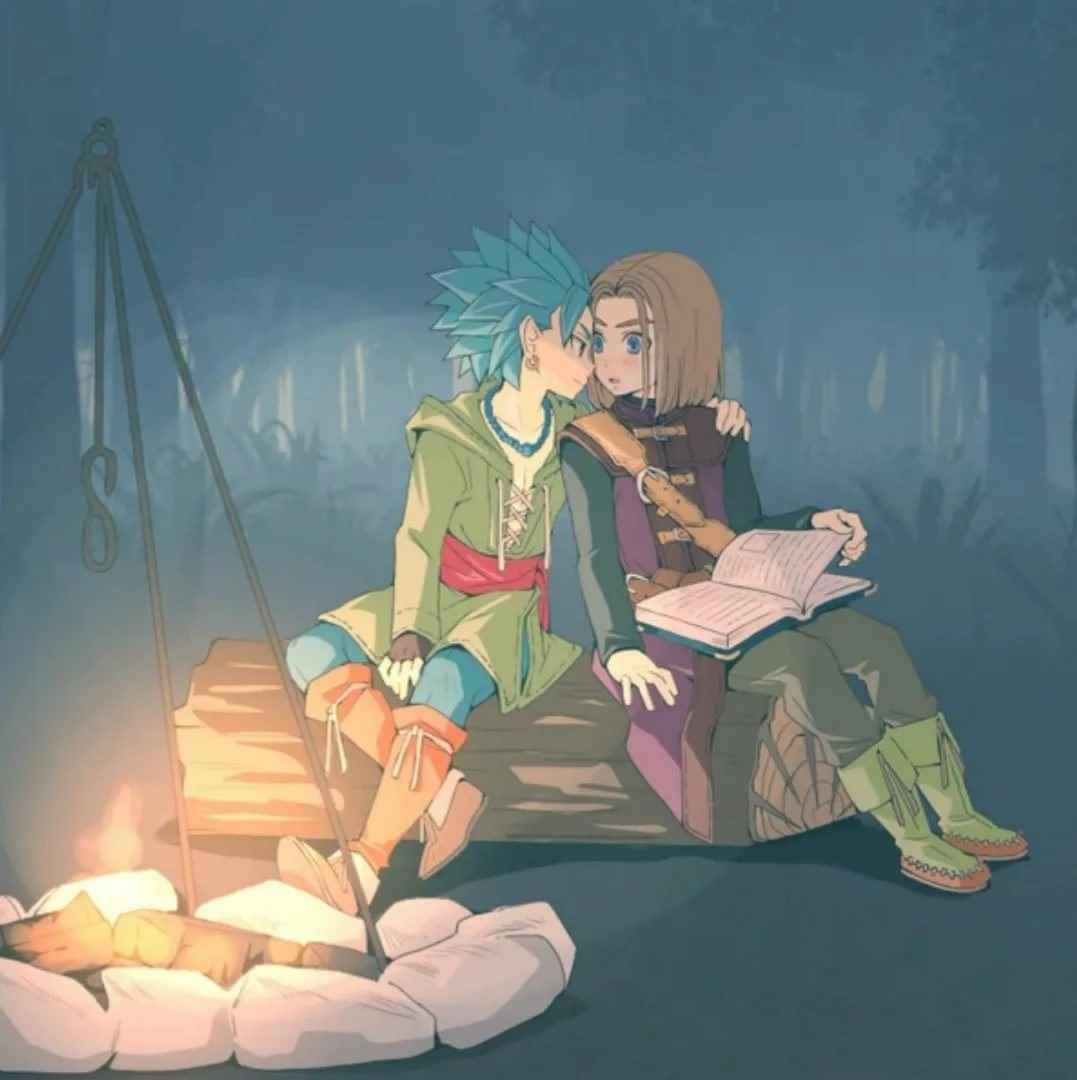 Картинка из аниме Квест дракона, Приключения Дая (23)
