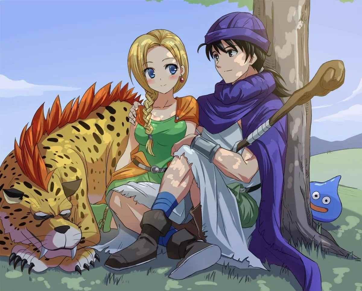 Картинка из аниме Квест дракона, Приключения Дая (27)