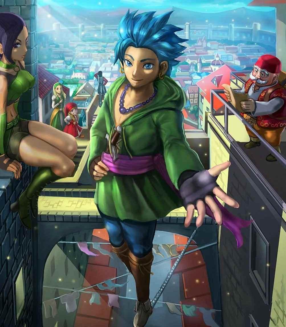 Картинка из аниме Квест дракона, Приключения Дая (28)