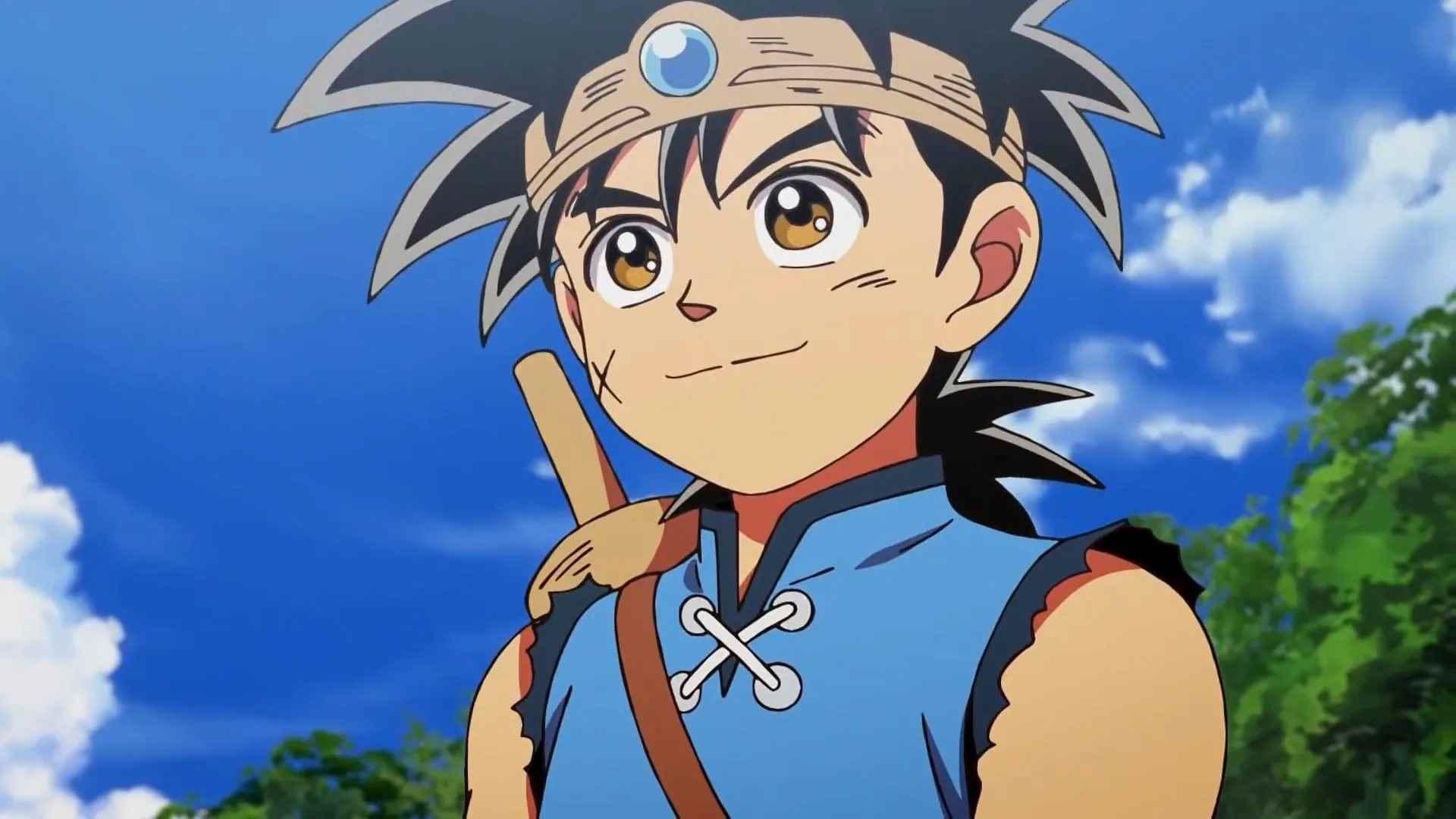 Картинка из аниме Квест дракона, Приключения Дая (4)