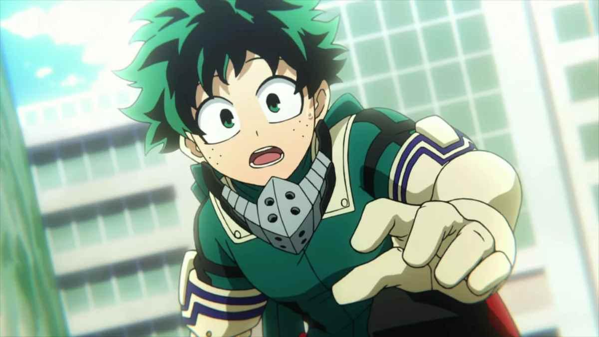 Красивая картинки из аниме Моя геройская академия (1)