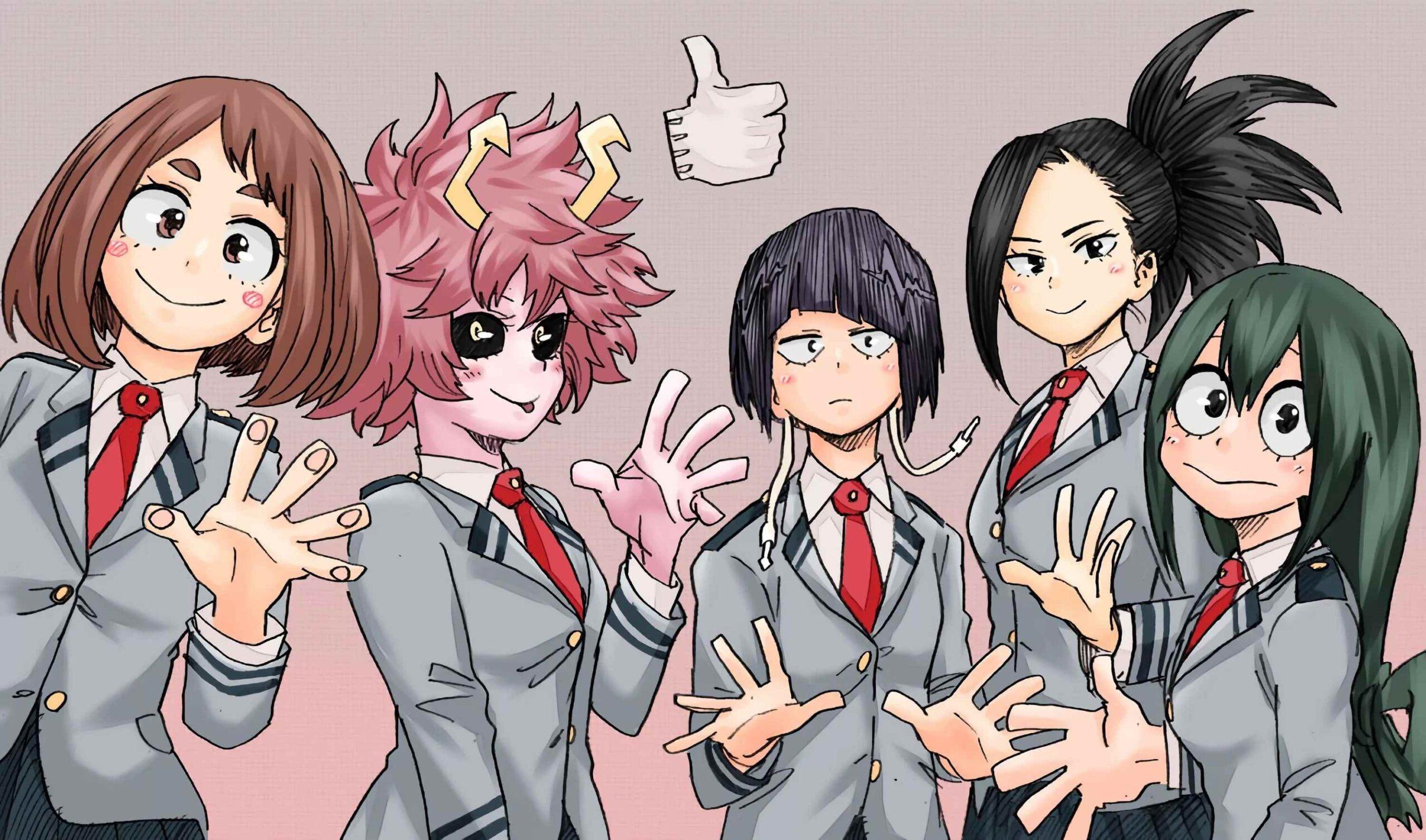 Красивая картинки из аниме Моя геройская академия (12)