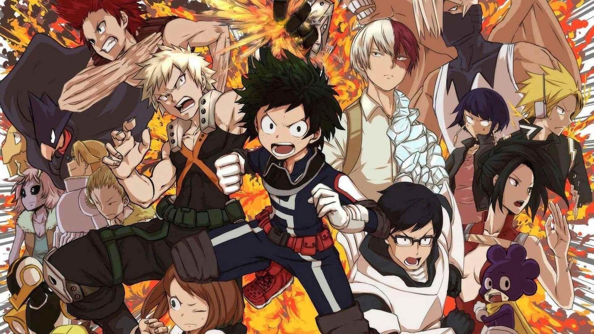 Красивая картинки из аниме Моя геройская академия (5)